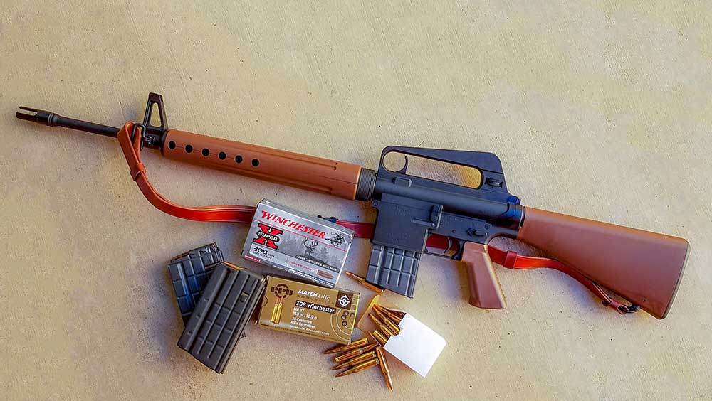 brownells brn 10a 308 ar rifle review f.